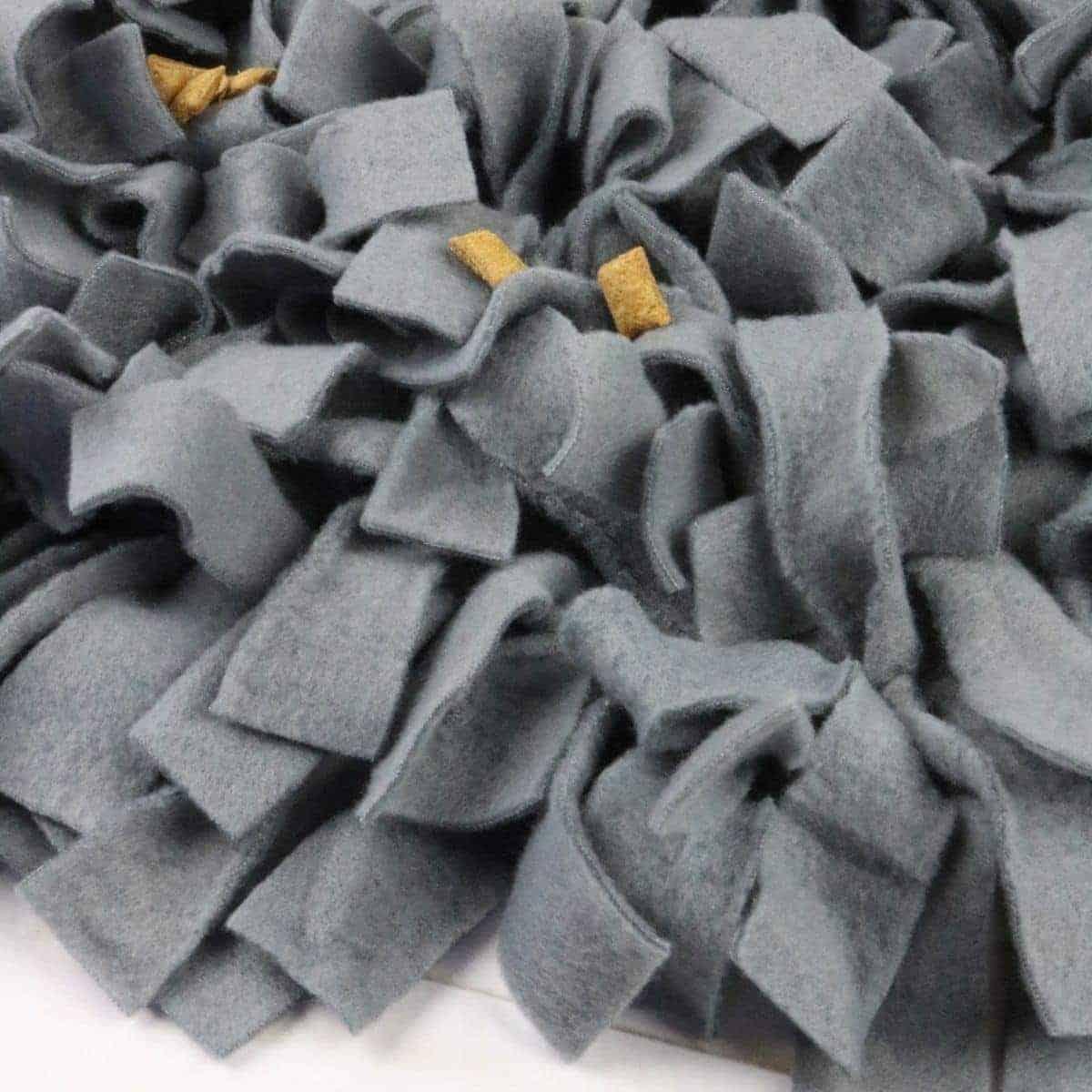No-Sew snuffle mat