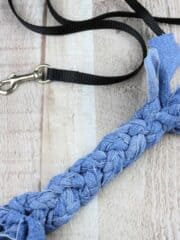 10 Minute DIY Dog Toy using old Jeans