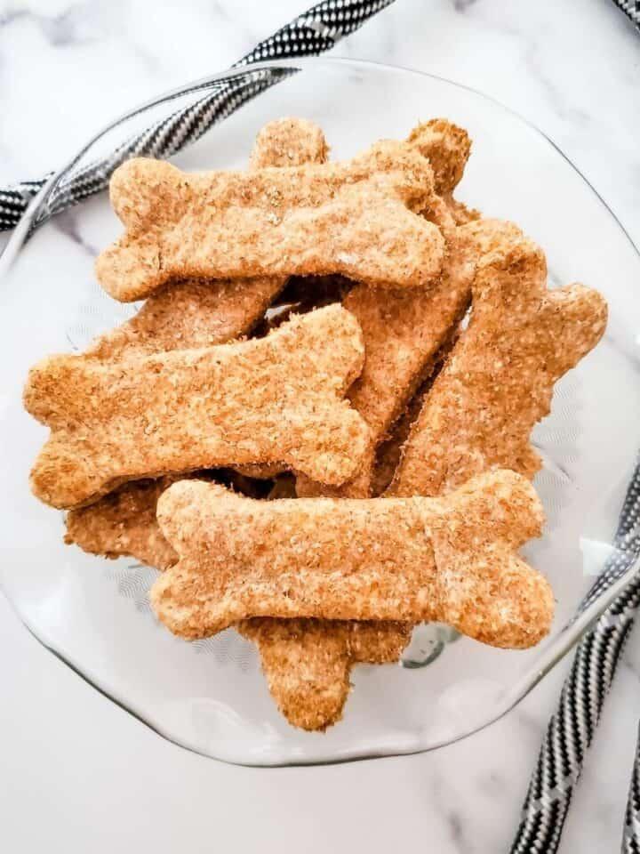Easy 3 Ingredient Chicken Dog Biscuits