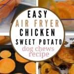 Air Fryer Chicken Sweet Potato Dog Chews PIN