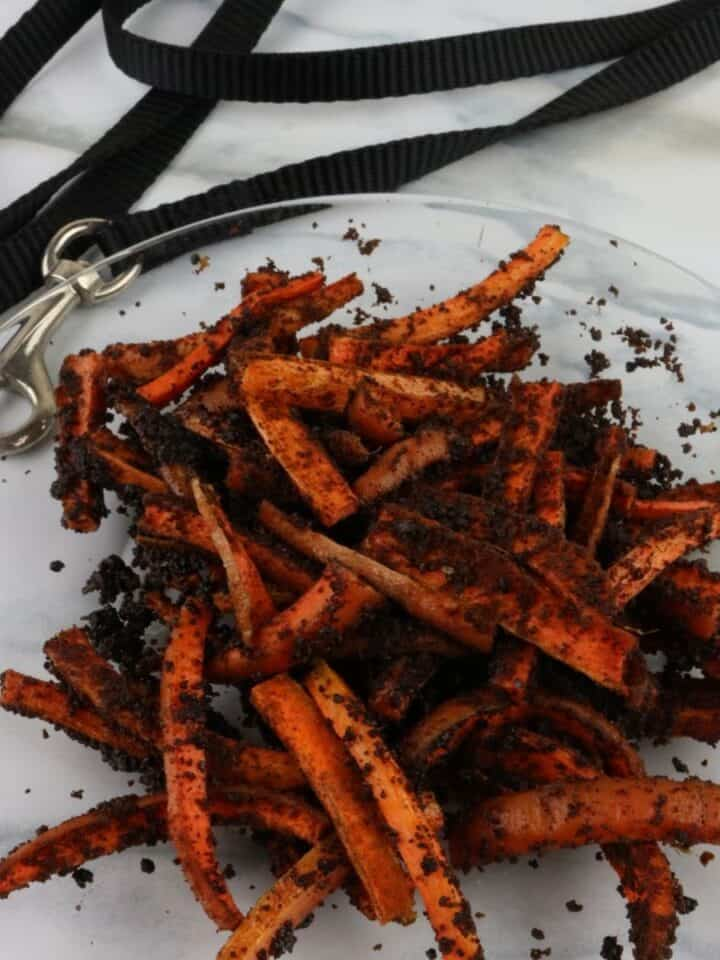 Easy Air Fryer Carrot Liver Dog Treats Recipe