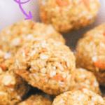 Cheese homemade dog meatballs