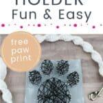 DIY Dog Leash Holder PIN