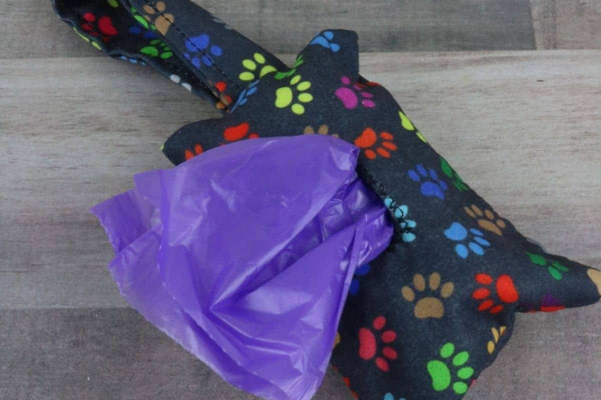 DIY Dog Poop Bag Holder Sewing