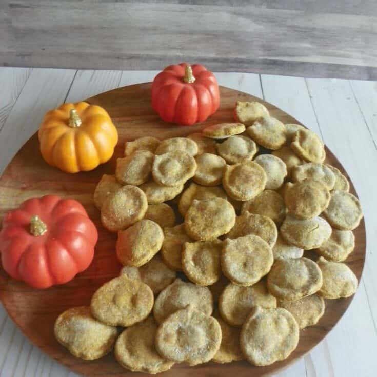 Homemade Halloween Pumpkin Dog Treats