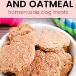 Dog Treats Recipe Strawberry Oatmeal