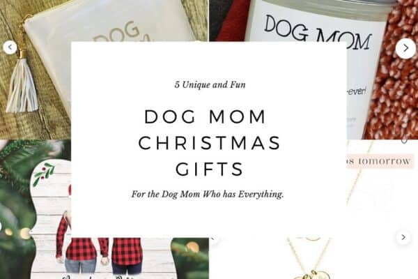 Dog mom Christmas Gifts