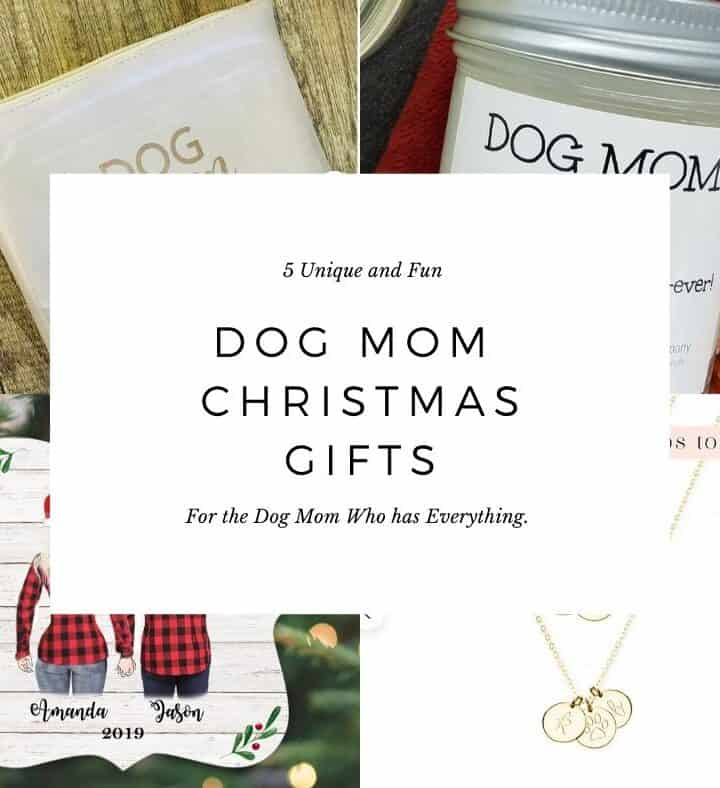 5  Unique and Fun Dog Mom Christmas Gifts