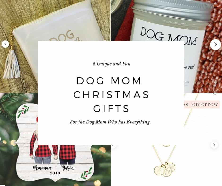 5 Unique And Fun Dog Mom Christmas Gifts For The Mom Who Has Everything | House That Barks