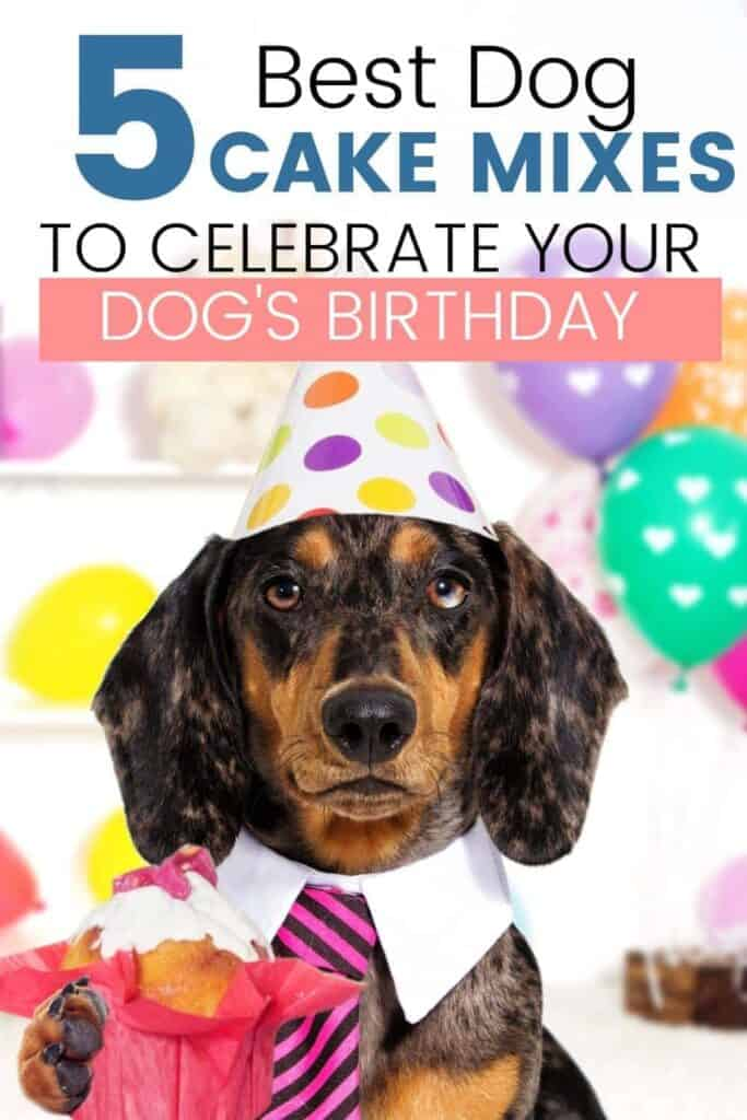 Dog's Birthday Cake Mixes