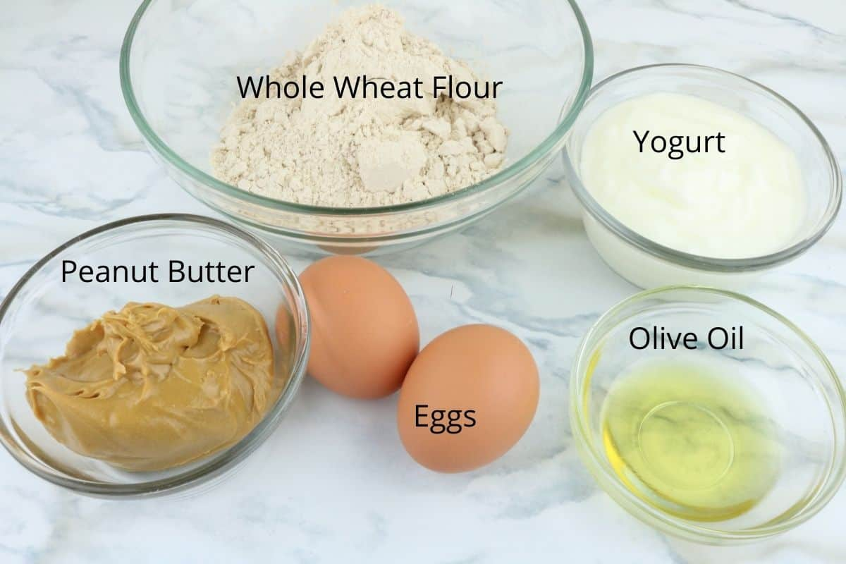 Ingredients Puppy Cakes