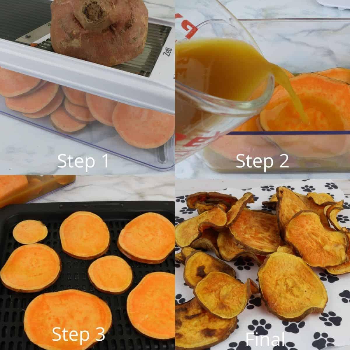 Instructions Chicken Sweet Potato