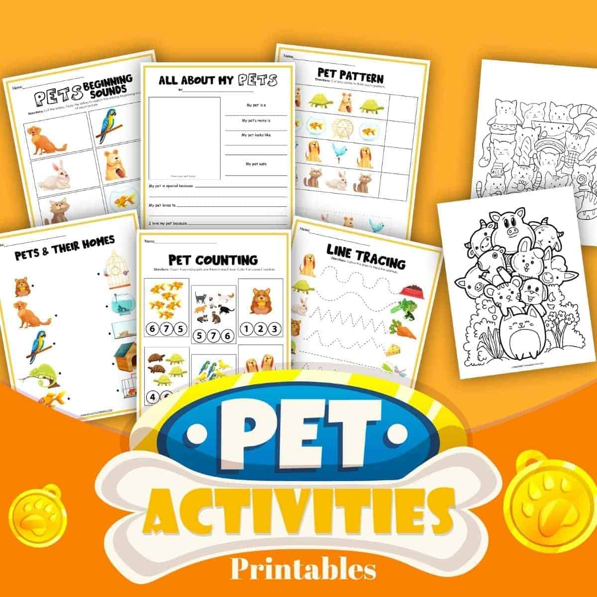 pet themed activity