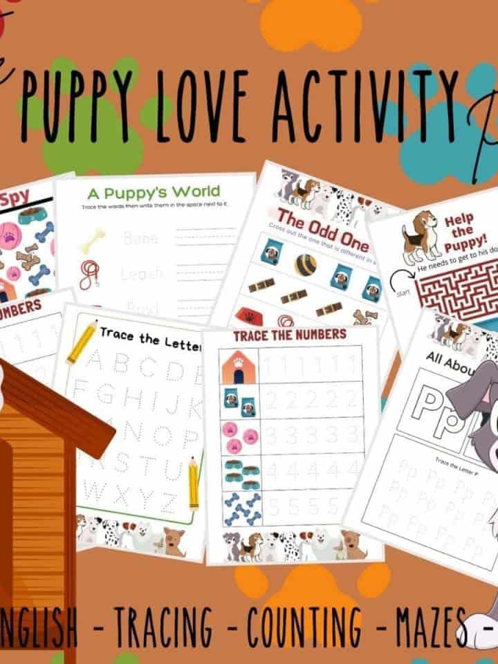 Puppy Love Activity Printable