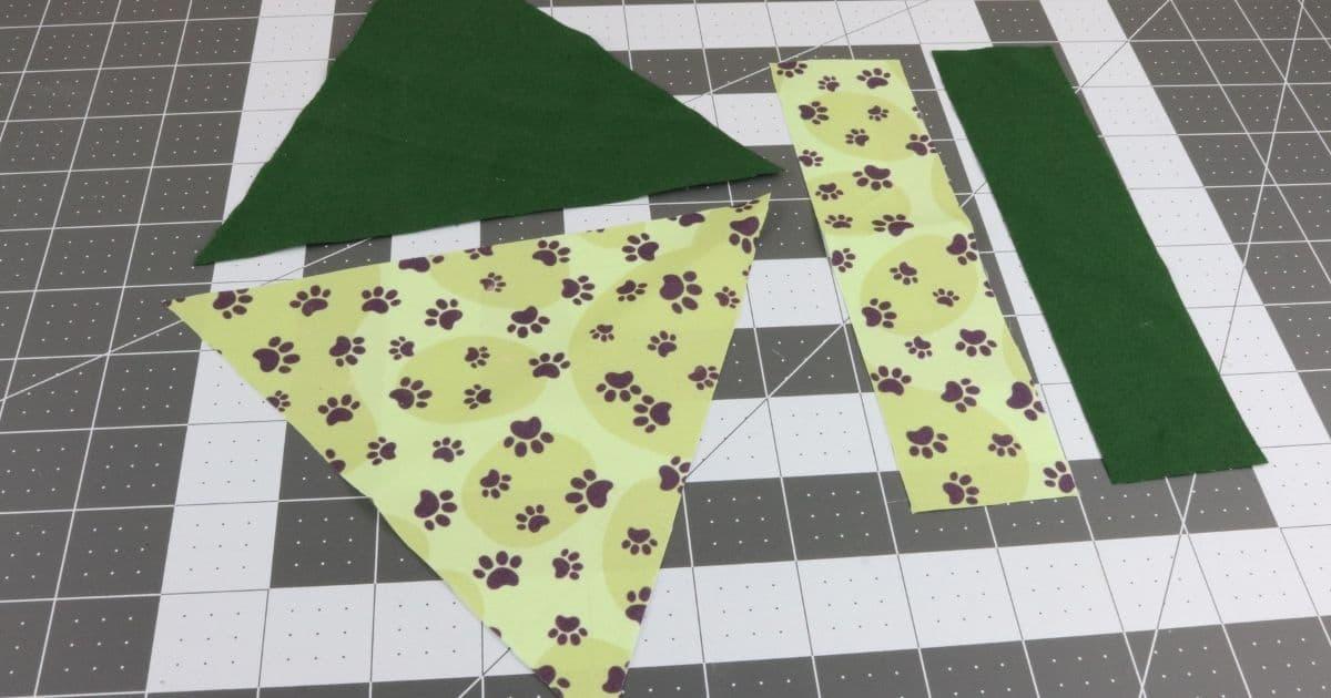 Step four dog bandana
