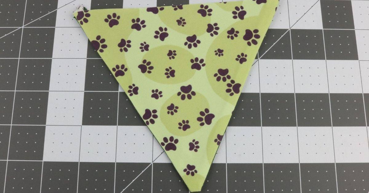 Step seven dog bandana