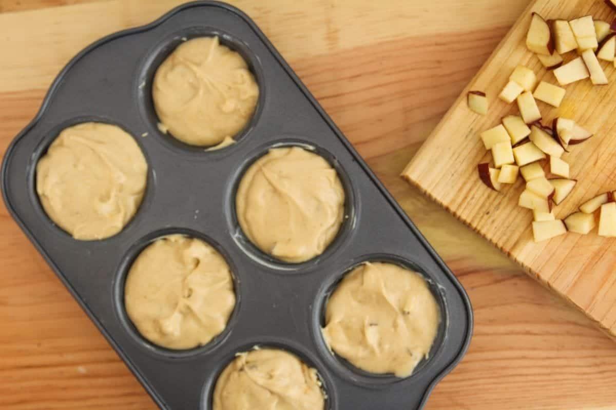 apple pupcakes