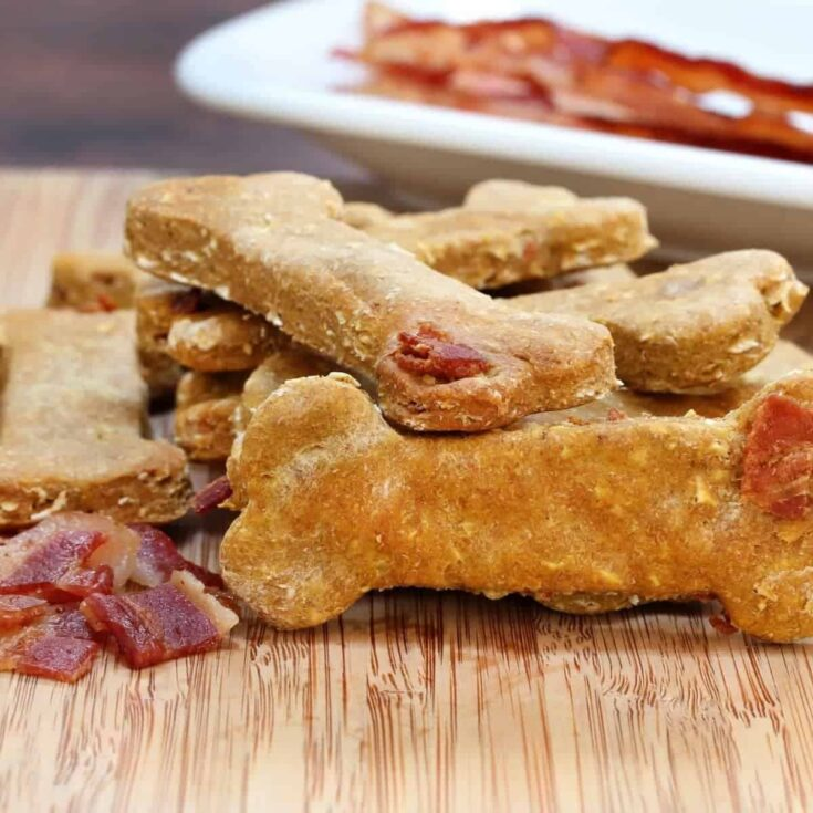 Callie's Peanut Butter Bacon Dog Biscuits