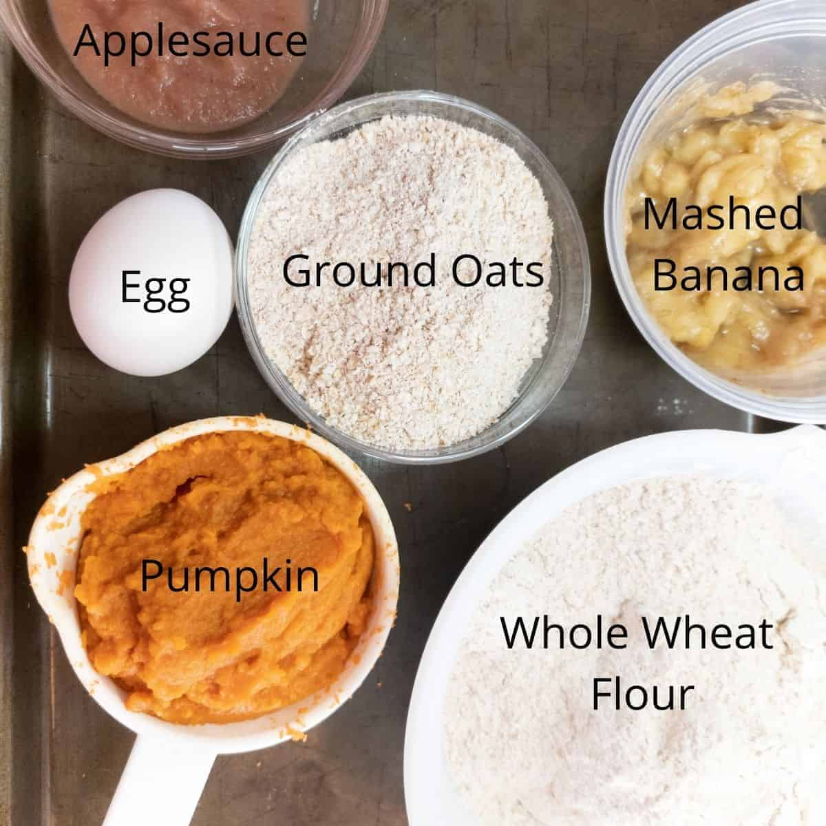banana pumpkin dog treat ingredients
