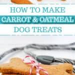 Carrot and Oatmeal Bonz Dog Treats