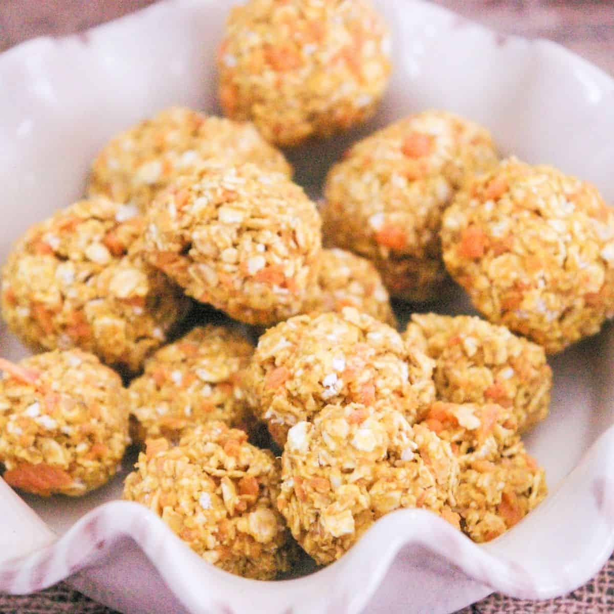 cheese and carrot dog treats
