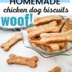chicken dog biscuits PIN