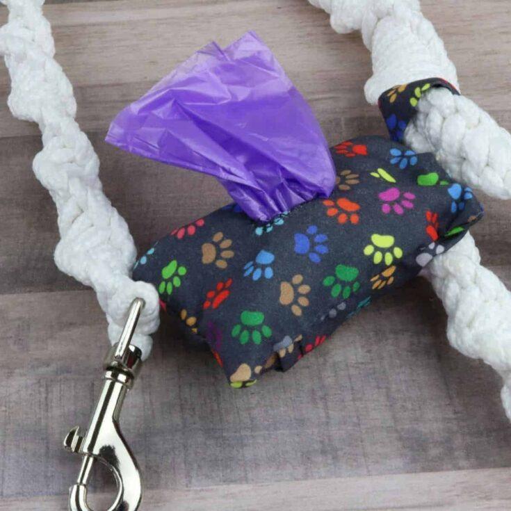 20-Minute DIY Dog Poop Bag Dispenser