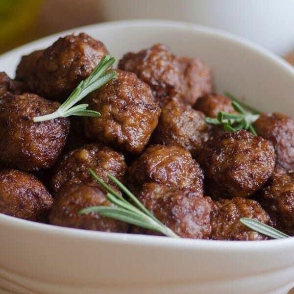 dog meatballs