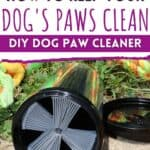 dog paw washer & cleaner