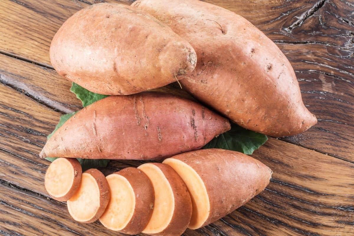 dogs sweet potatoes