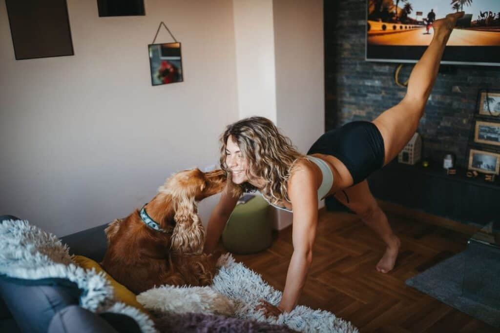 exercise with dogs