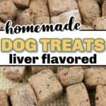 Homemade Dog Training Treats ( Liver flavored)