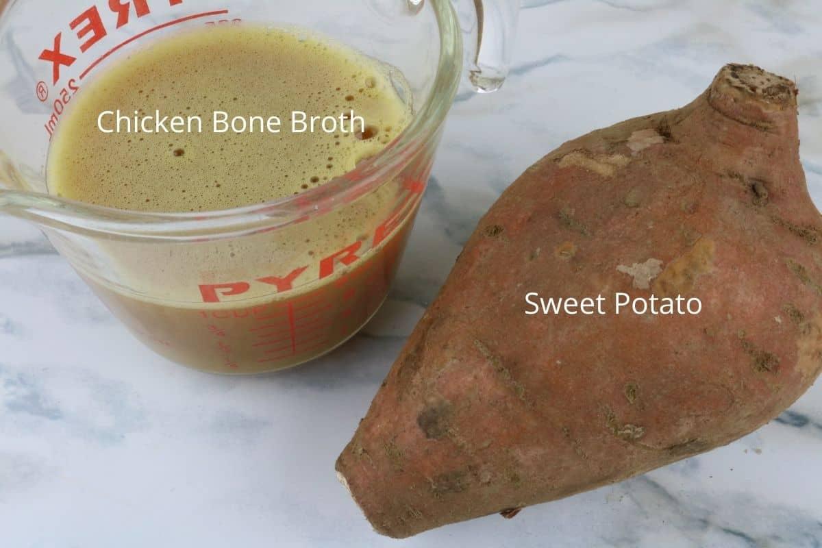 ingredients air fryer chicken sweet potato chews