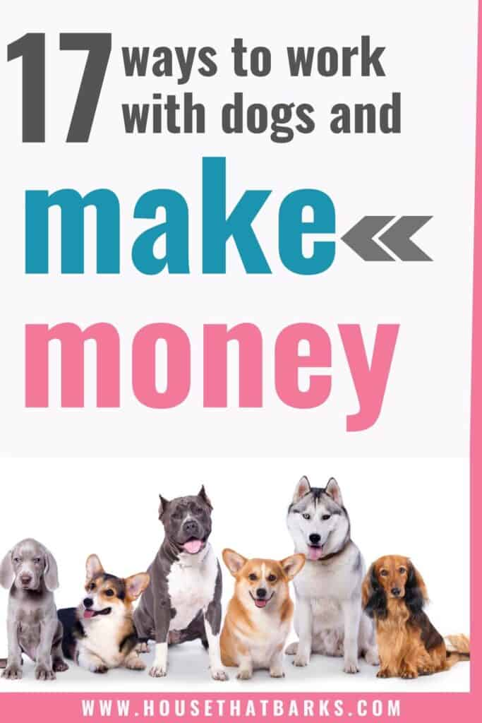 make money working with dogs