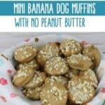 Mini Banana Dog Muffins