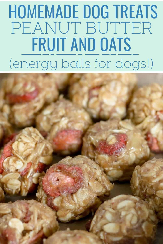 peanut butter fruit and oats
