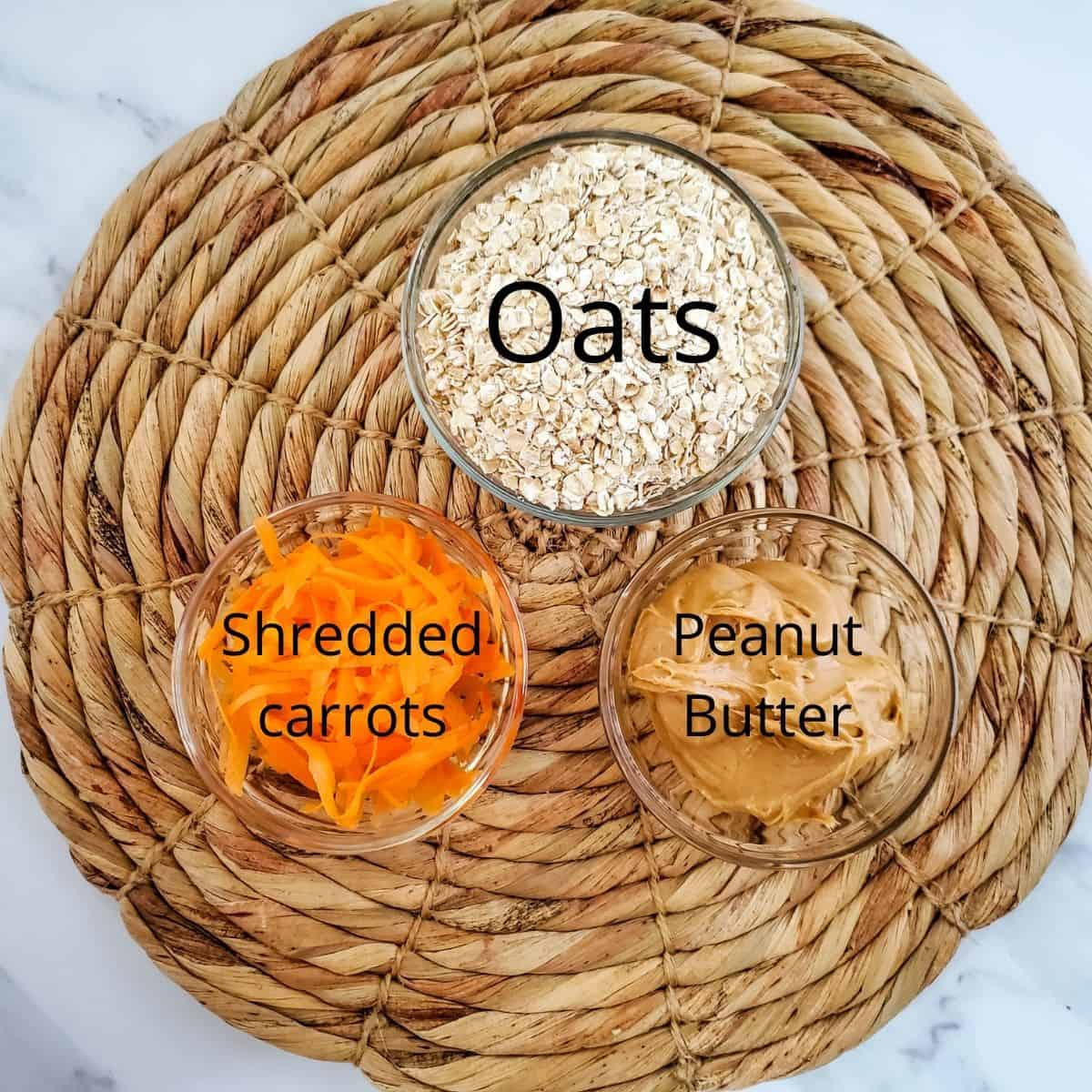 supplies carrot and oatmeal dog treats