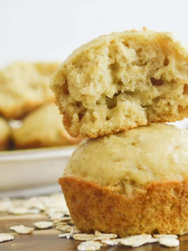 25-minute Sweet Potato Puppy Muffins
