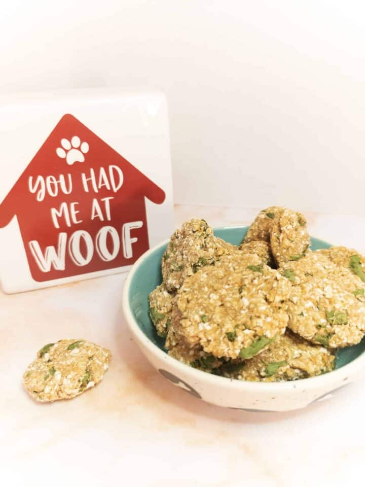 Homemade Fresh Breath Dog Treats