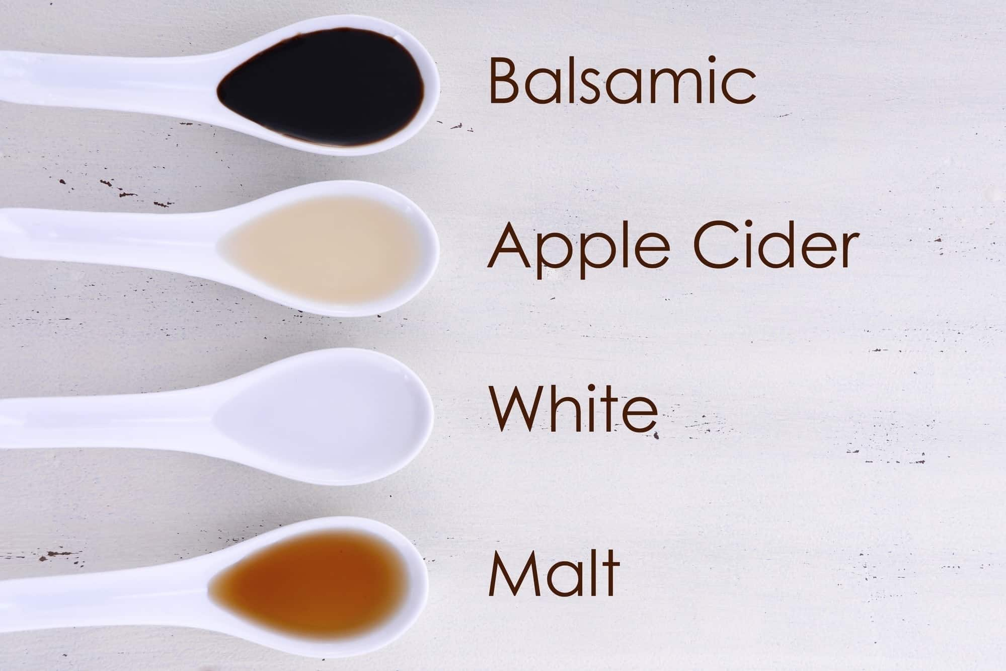 Types of apple cider vinegar